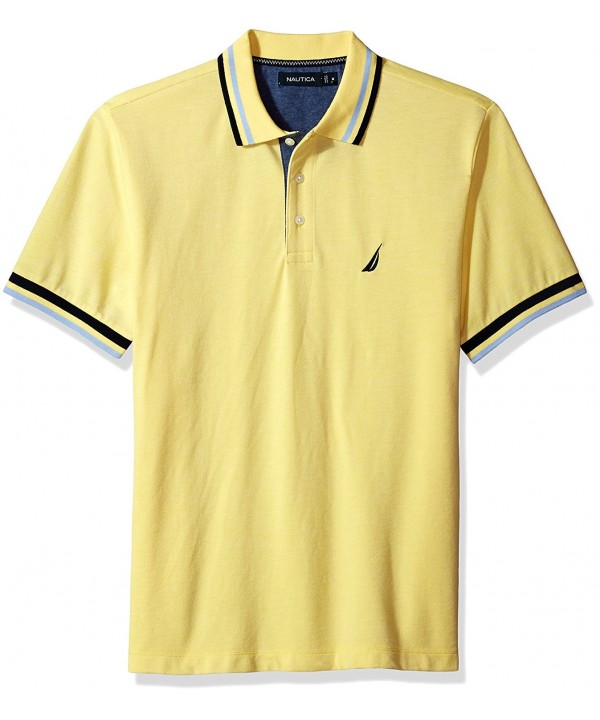 Nautica Short Sleeve Performance Tipping