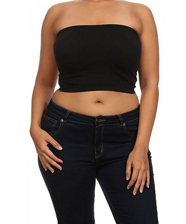 Womans Trendy Seamless Bandeau Top