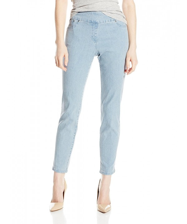 Ruby Rd Womens Stretch Chambray