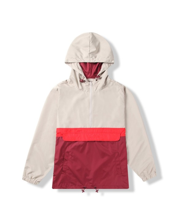 Beautiful Giant Resistant Pullover Windbreaker