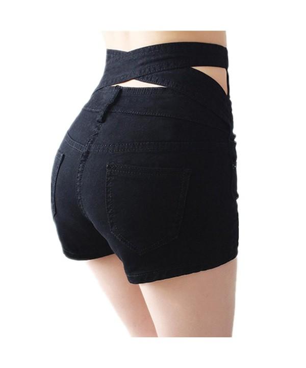 Weigou Women Shorts Breasted Halter