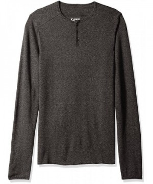 C IN2 Thermal Henley Heather Medium
