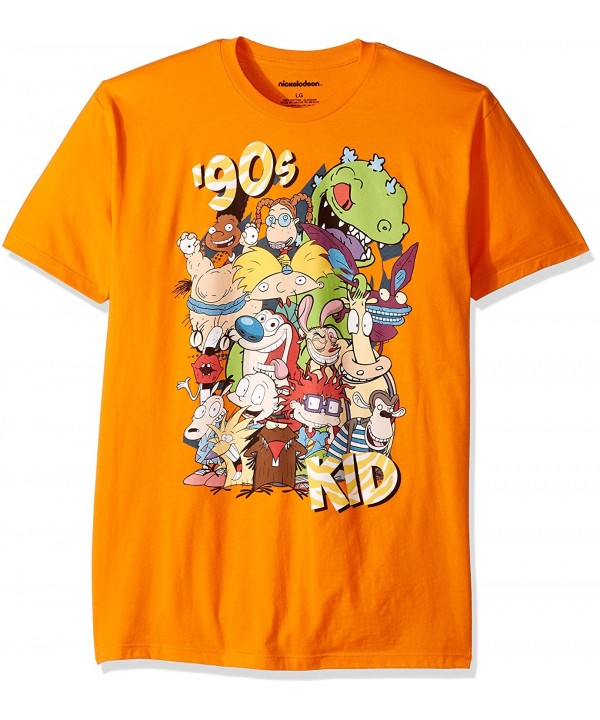 c14458f44 Men's Ren and Stimpy- Rugrats and Classic Show Characters T-Shirt ...