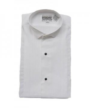 White Tuxedo Pleats Broadway Tuxmakers