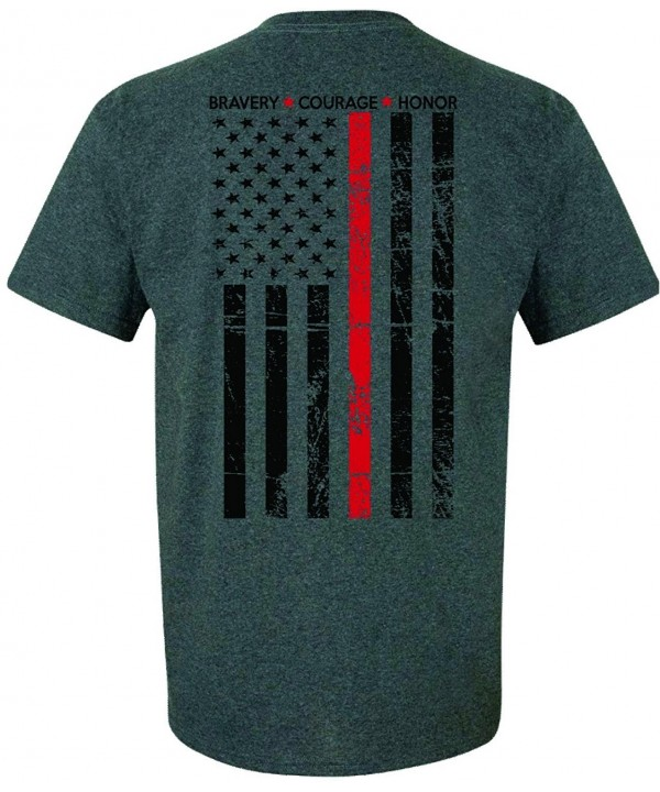 Patriot Apparel Firefighter T Shirt Heather