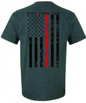Patriot Apparel Firefighter T Shirt Heather