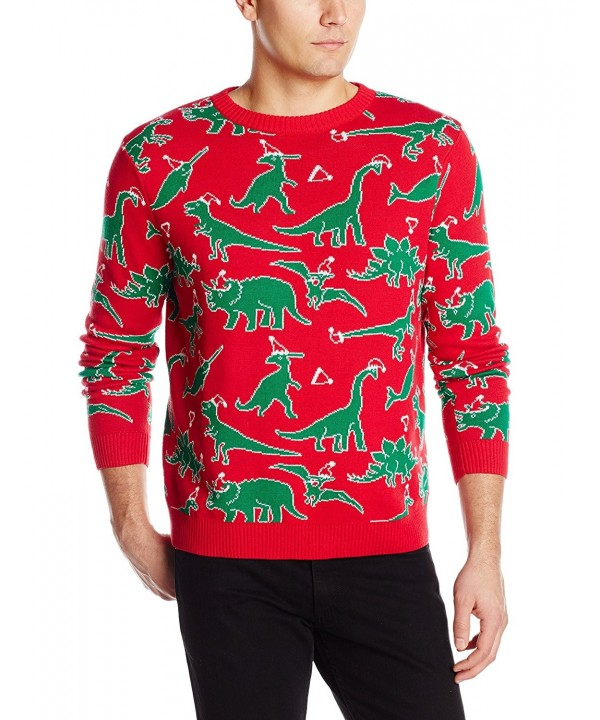 Alex Stevens Dinosaur Christmas Sweater