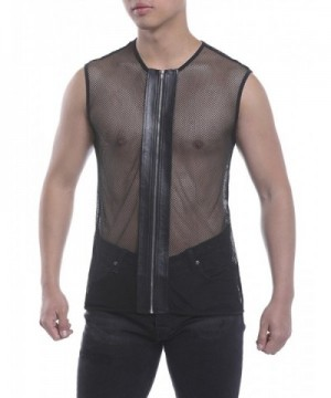 HEQU Zipper Sleeveless See Through Clubwear