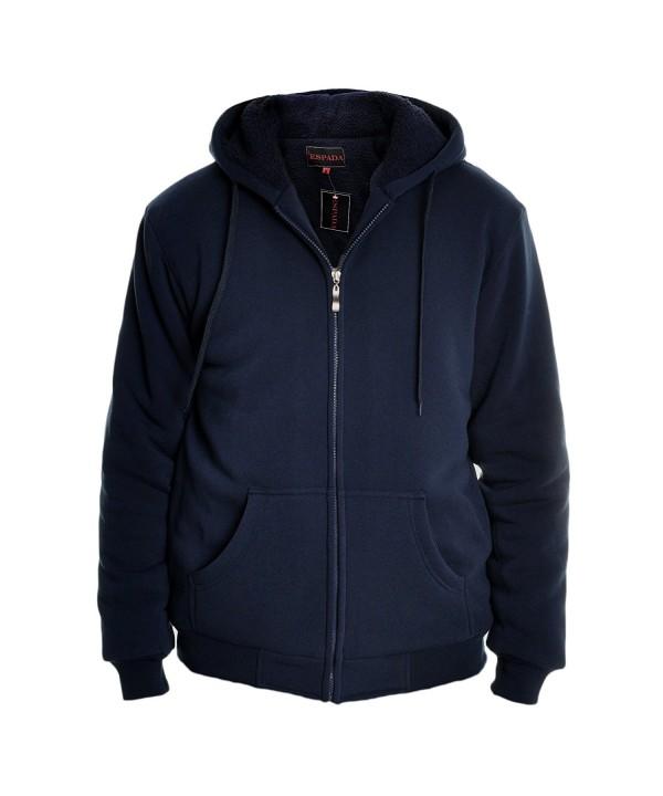Espada Full Zip Sherpa Lined Hoodie Jacket