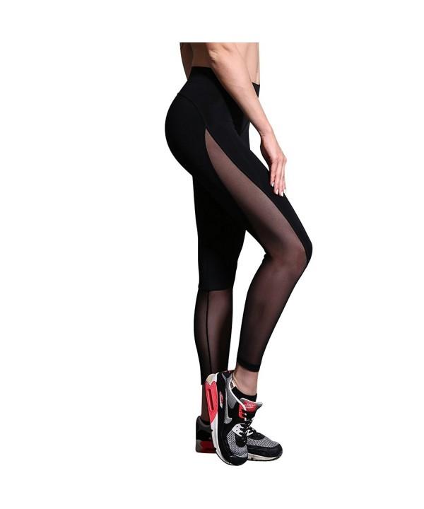 BRAUFACTUM Womens Workout Running Leggings