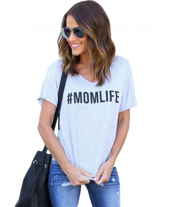 Summer Casual Letter Sleeve T Shirt