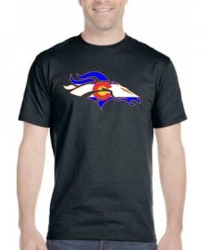 Colorado Bronco T shirt Black Flag