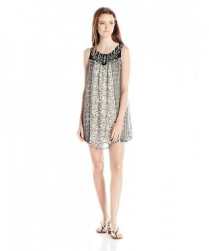 Jolt Womens Print Sleeveless Dress