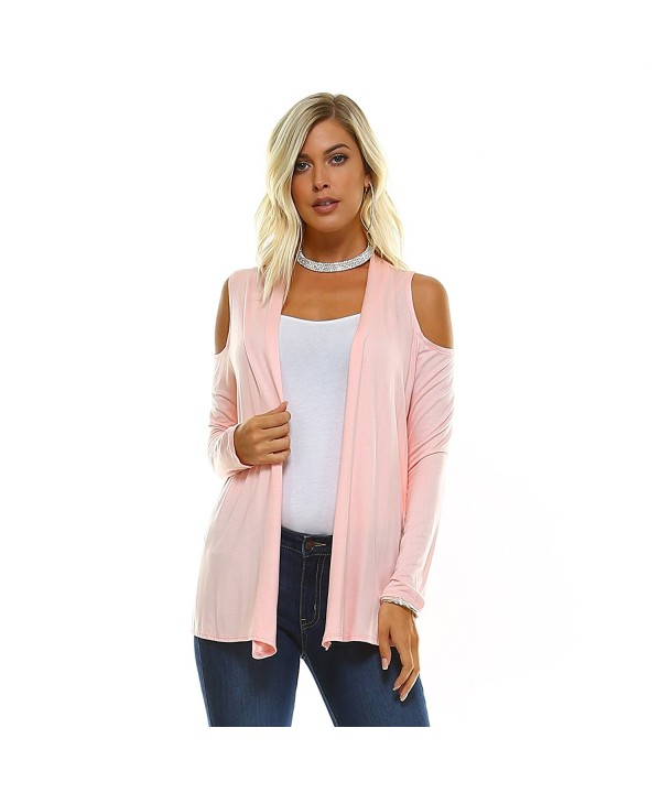 Isaac Liev Shoulder Lightweight Cardigan