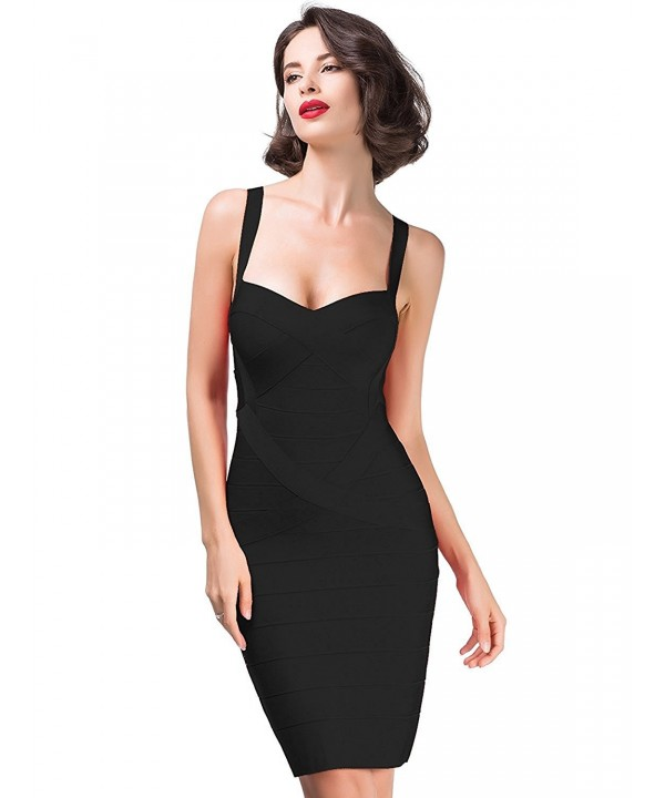 Alice Elmer Sleeveless Spaghetti Bodycon