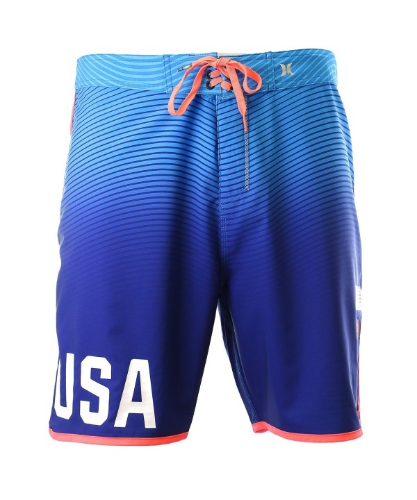 Hurley Olympic Blue Mens Boardshorts
