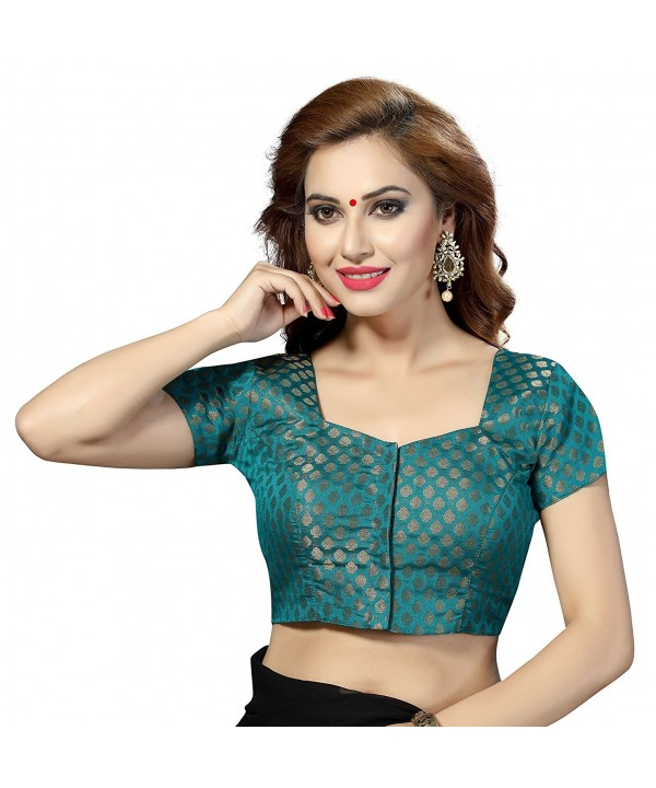 TrendyFashionMall Ready Sleeve Blouse Seagreen Small