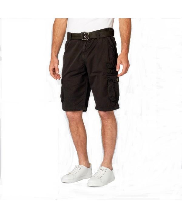 XRAY JEANS Cargo Shorts Black