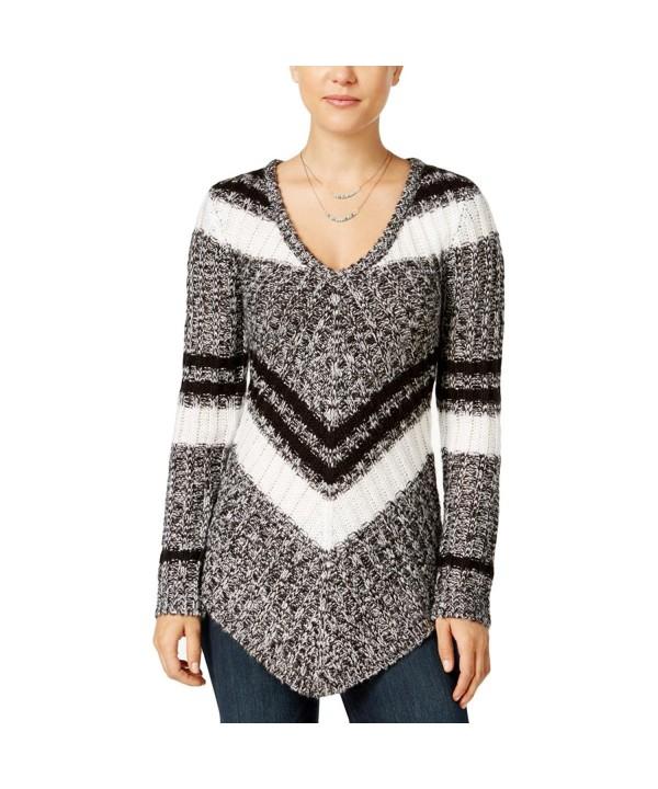 Ultra Flirt Juniors Striped Sweater