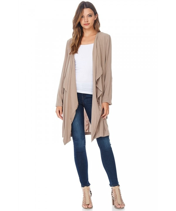 Alexander David Womens Casual Cardigan