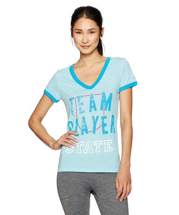 Soffe Womens Player T Shirt Turquoise
