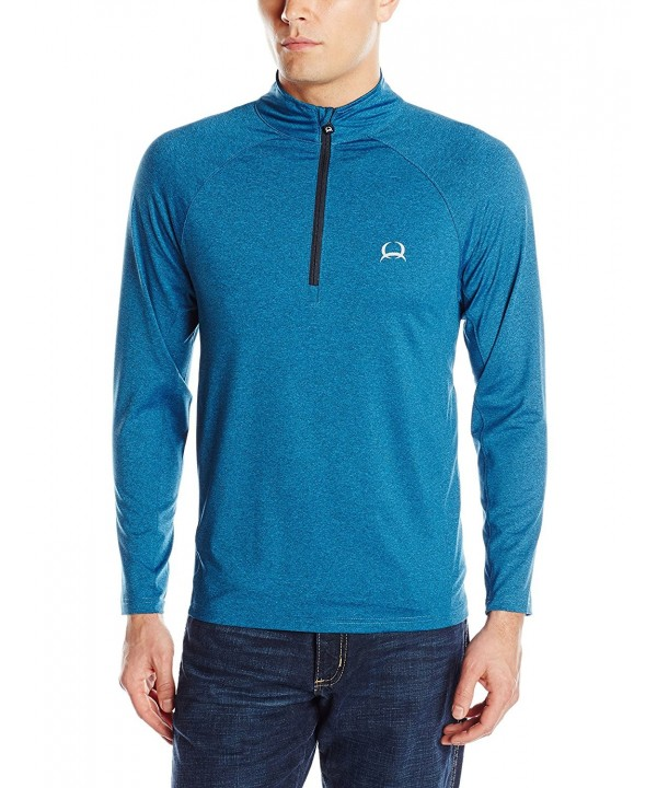 Cinch Mens Pullover Blue XX Large