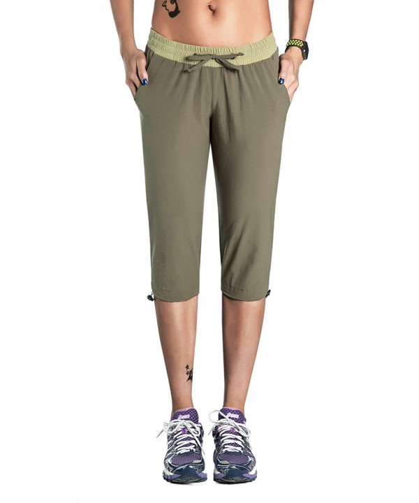 Unitop Womens Capri Hiking Green 3