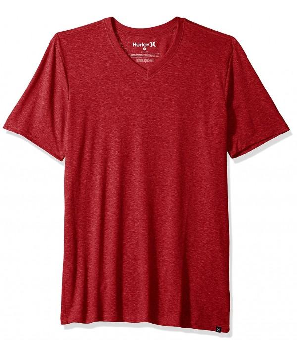 Hurley Sleeve Staple Tri Blend V Neck