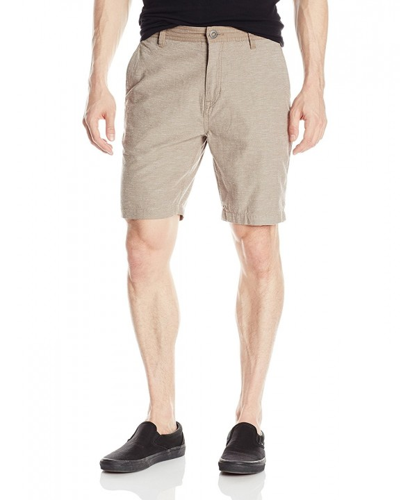 Volcom Mens Powell Short Beige
