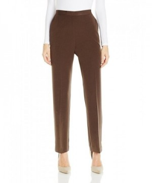 Alfred Dunner Womens Proportioned Chocolate