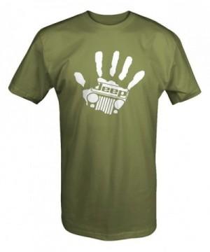Jeep Handprint Grill Wrangler shirt