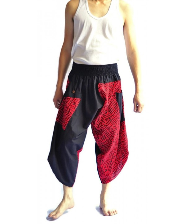Japanese Style Pants Black Tradition