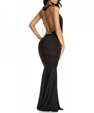 made2envy Evening Draped Dress 70159BL