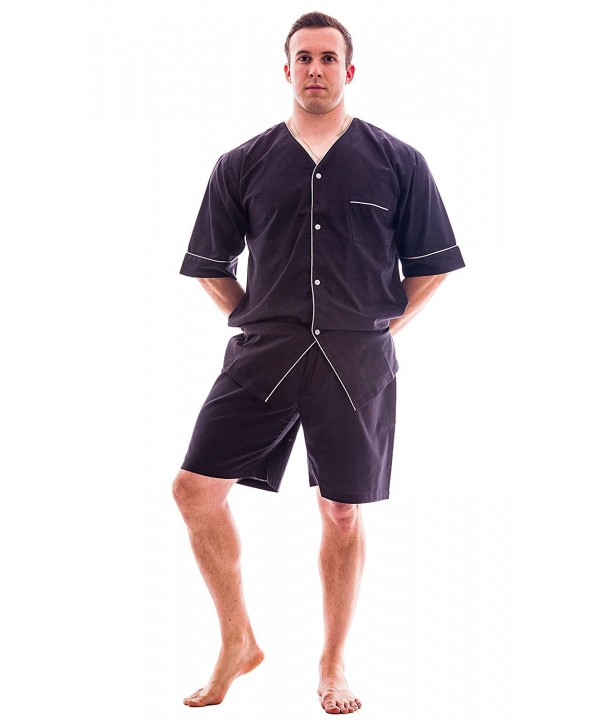 Up2date Fashion Woven Pajama ShortsXLargeCharcoal