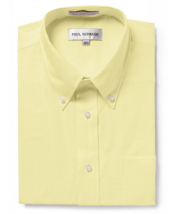 Paul Bernado Sleeve Oxford Shirt Wrinkle Free