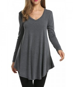 Misakia Womens Basic Tunic T shirt