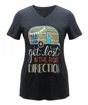 Womens Letter Print Right Direction
