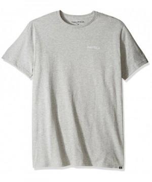 Nautica Sleeve Graphic T Shirt Heather