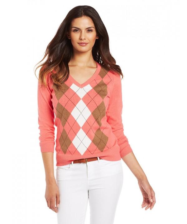 Caribbean Joe Womens Sweater X Large