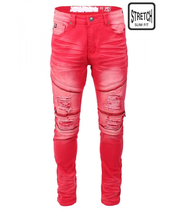 JC DISTRO Hipster Distressed Stretch