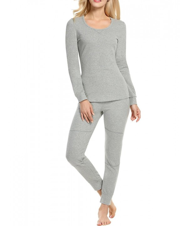 MAXMODA Womens Scoop Thermal Underwear