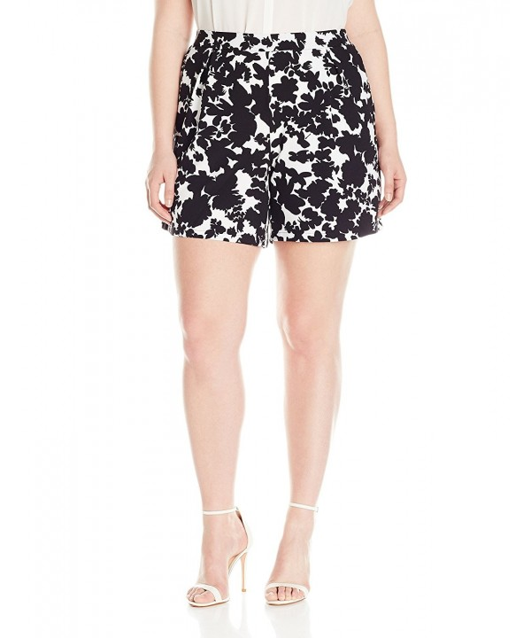 Modamix Womens Printed Pleated Floral
