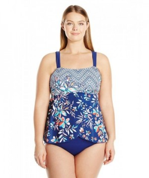 Maxine Hollywood Womens Tropical Swimsuit
