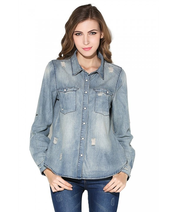 Little Smily Casual Chambray Roll up