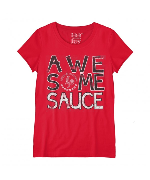 Tee Luv Sriracha Licensed T Shirt Medium