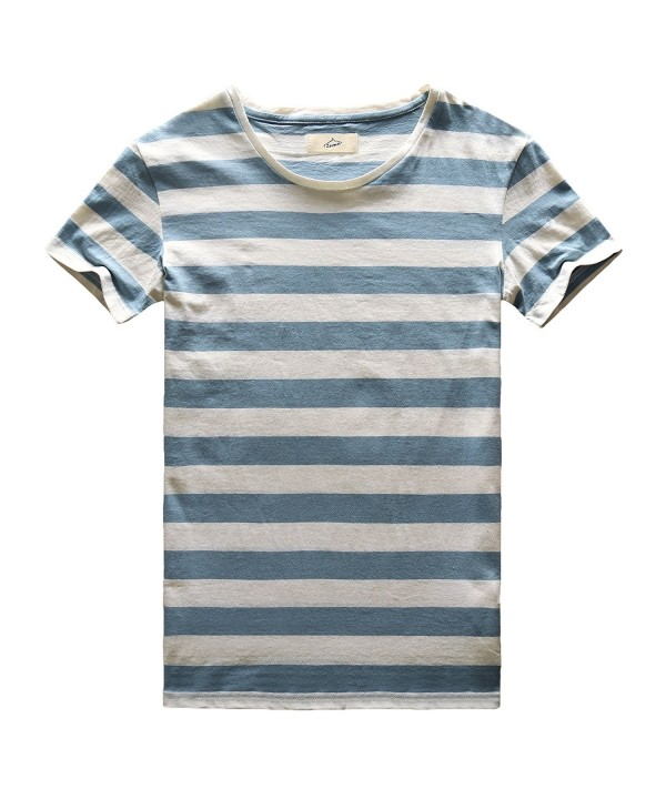 Zecmos Striped T Shirt Sleeve Stripes