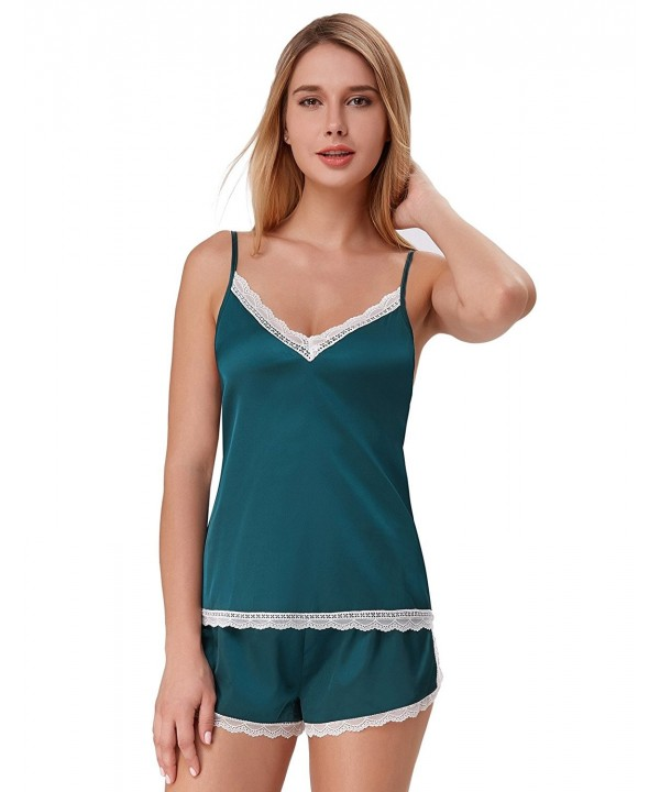 Pajamas Women V Neck Shorts ZE47 1