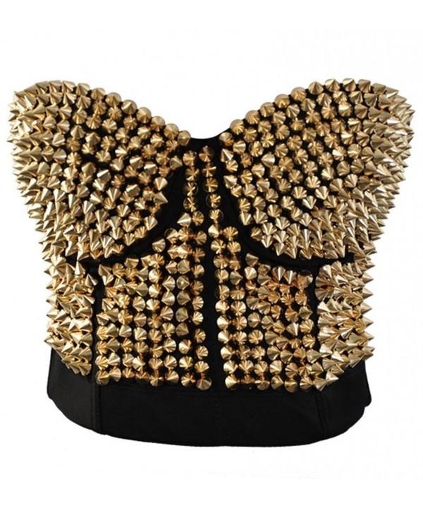 Alivila Y Fashion Metallic Clubwear 926 Gold M