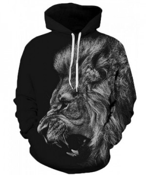 Hakjay Simulation Printed Sweatshirt 091 Lion