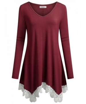Ninedaily Comfy Blouse Pleated Irregular
